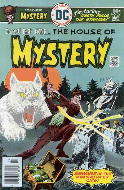 Cover for House of Mystery (DC, 1951 series) #241