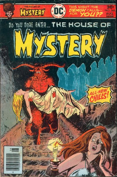 Cover for House of Mystery (DC, 1951 series) #244