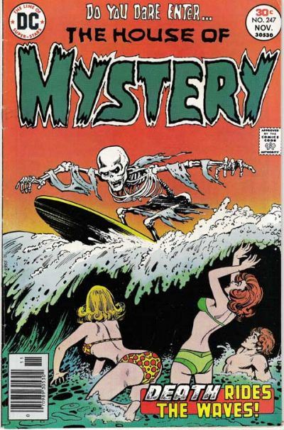 Cover for House of Mystery (DC, 1951 series) #247