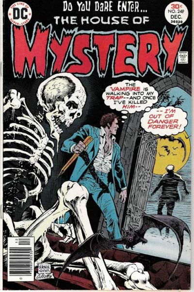 Cover for House of Mystery (DC, 1951 series) #248