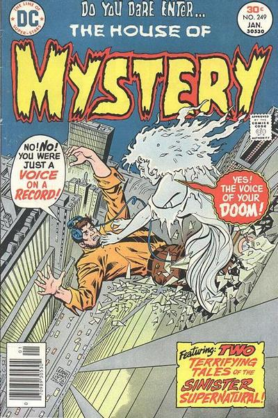 Cover for House of Mystery (DC, 1951 series) #249