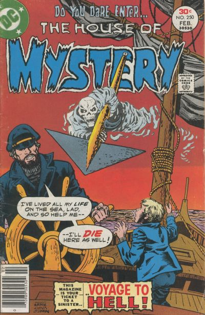 Cover for House of Mystery (DC, 1951 series) #250