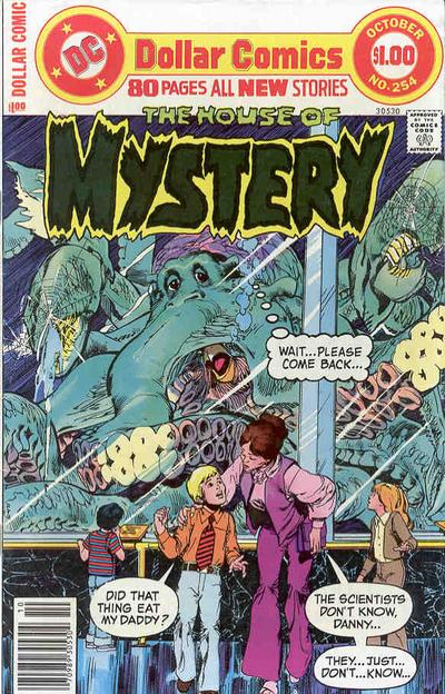 Cover for House of Mystery (DC, 1951 series) #254