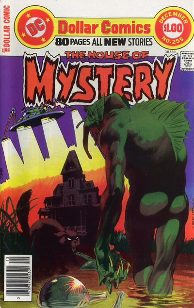Cover for House of Mystery (DC, 1951 series) #255
