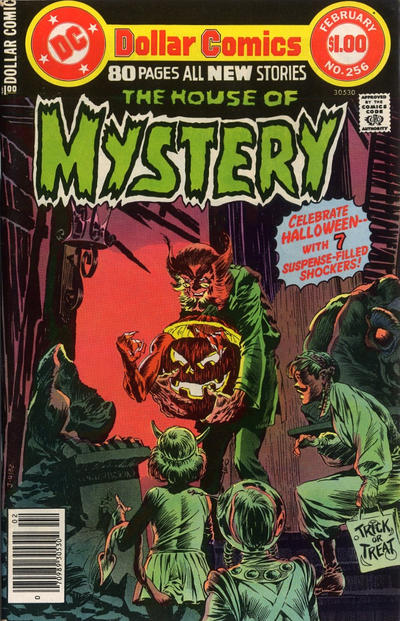 Cover for House of Mystery (DC, 1951 series) #256