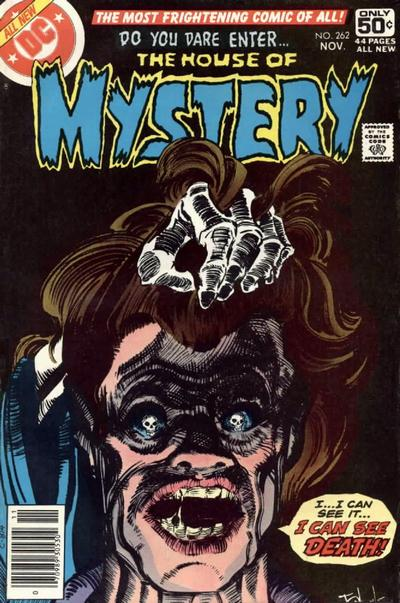Cover for House of Mystery (DC, 1951 series) #262