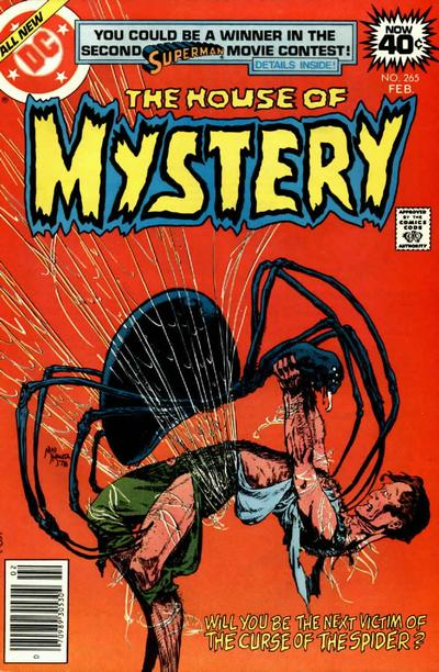 Cover for House of Mystery (DC, 1951 series) #265