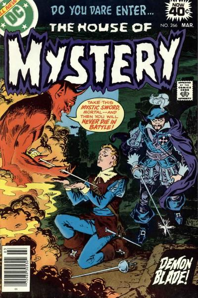 Cover for House of Mystery (DC, 1951 series) #266