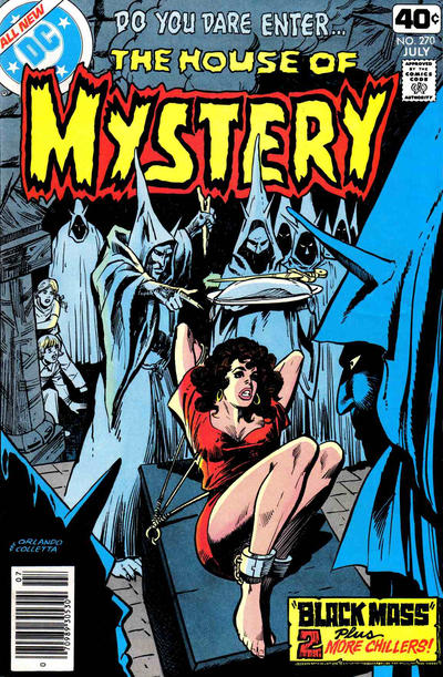 Cover for House of Mystery (DC, 1951 series) #270