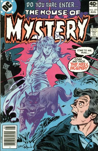 Cover for House of Mystery (DC, 1951 series) #271