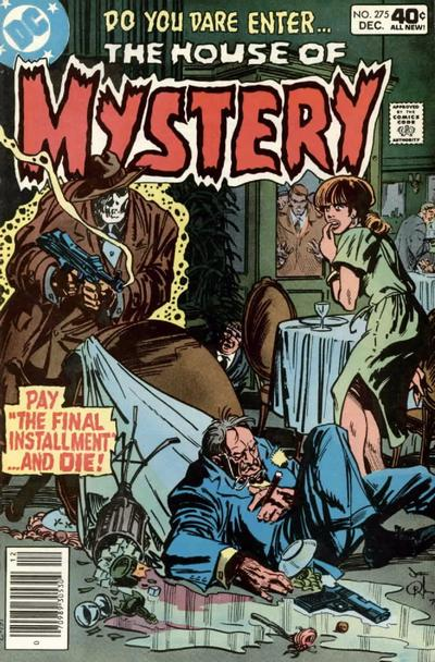 Cover for House of Mystery (DC, 1951 series) #275