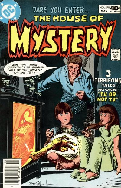 Cover for House of Mystery (DC, 1951 series) #278