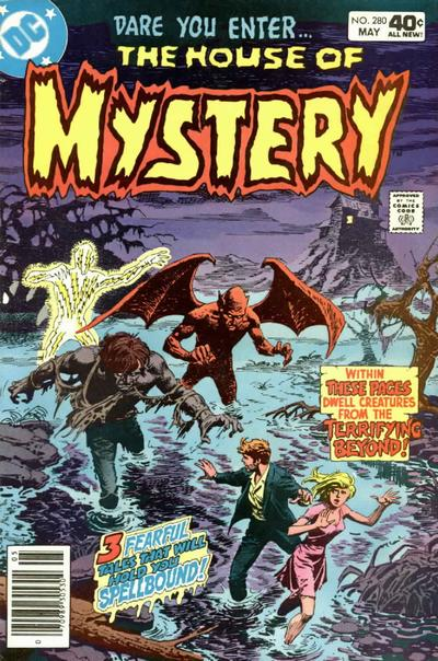 Cover for House of Mystery (DC, 1951 series) #280