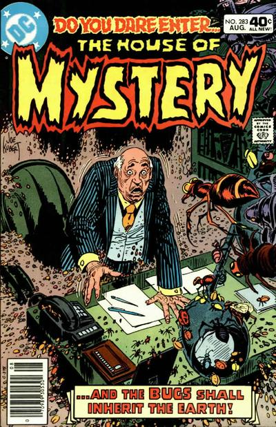Cover for House of Mystery (DC, 1951 series) #283