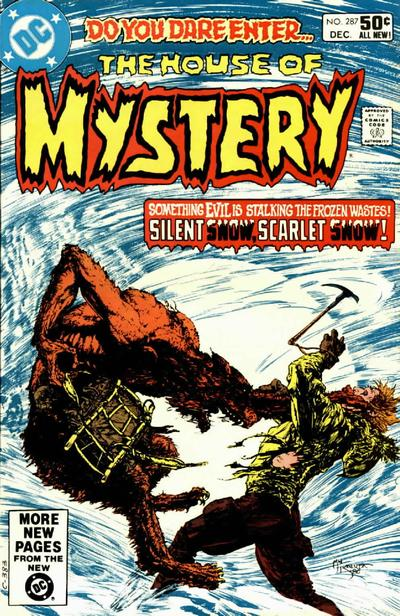 Cover for House of Mystery (DC, 1951 series) #287