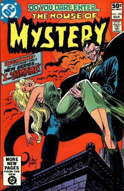Cover for House of Mystery (DC, 1951 series) #290 [Direct Sales]