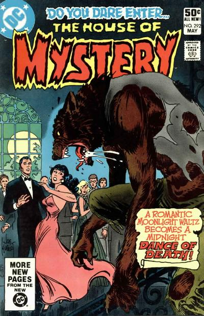 Cover for House of Mystery (DC, 1951 series) #292 [Direct Sales]