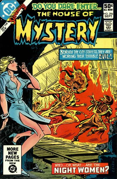 Cover for House of Mystery (DC, 1951 series) #296 [Direct Sales]