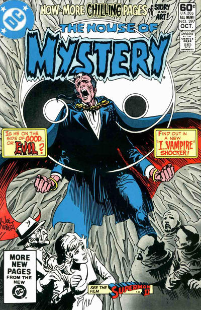 Cover for House of Mystery (DC, 1951 series) #297 [Direct Sales]