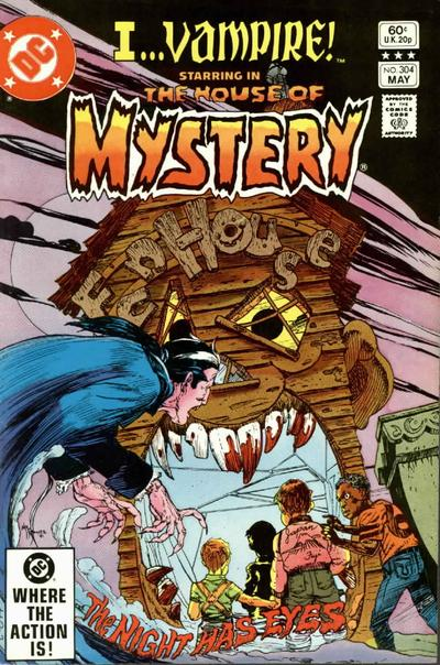Cover for House of Mystery (DC, 1951 series) #304 [Direct]