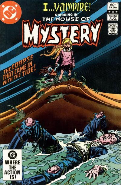 Cover for House of Mystery (DC, 1951 series) #307 [Direct Sales]