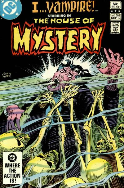 Cover for House of Mystery (DC, 1951 series) #308 [Direct Sales]