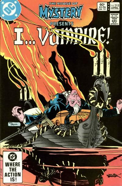 Cover for House of Mystery (DC, 1951 series) #315 [Direct-Sales]