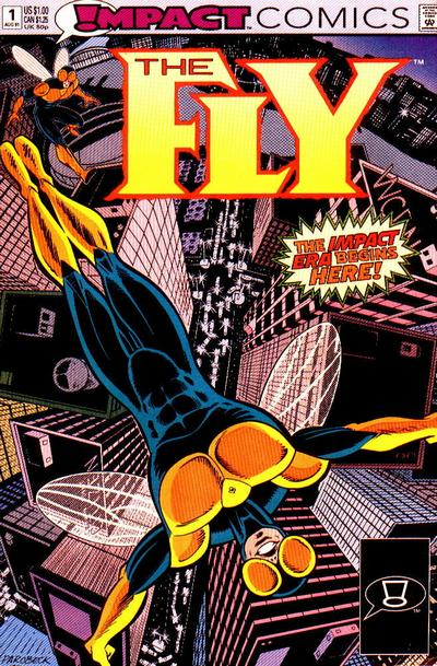 Cover for The Fly (DC, 1991 series) #1