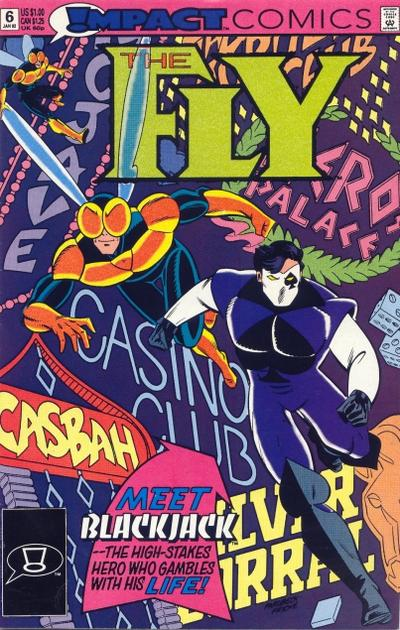 Cover for The Fly (DC, 1991 series) #6 [Direct]