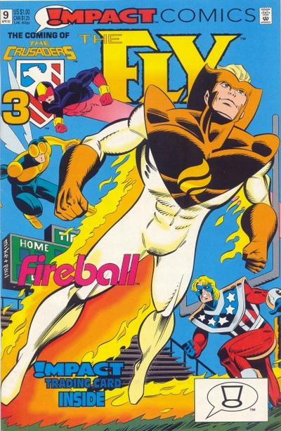 Cover for The Fly (DC, 1991 series) #9 [Direct]