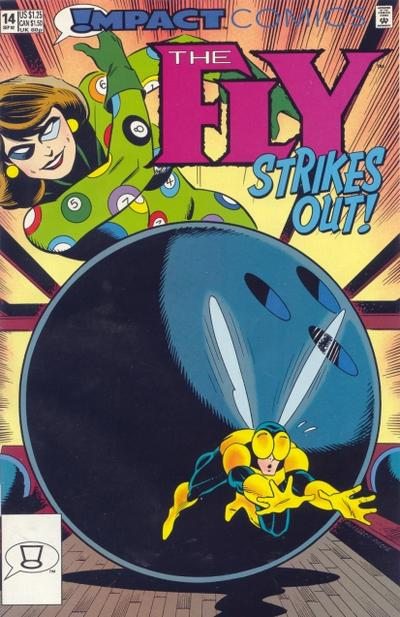 Cover for The Fly (DC, 1991 series) #14