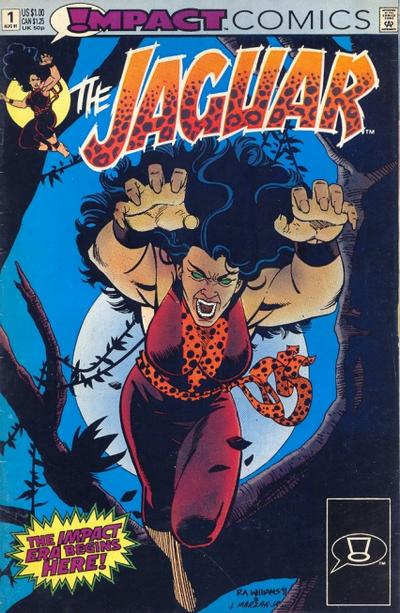 Cover for The Jaguar (DC, 1991 series) #1 [Direct]