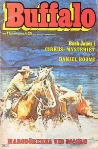 Cover Thumbnail for Buffalo Bill / Buffalo [delas] (Semic, 1965 series) #11/1980