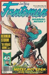 Cover Thumbnail for Fantomen (Semic, 1963 series) #21/1990