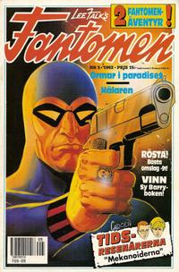 Cover Thumbnail for Fantomen (Semic, 1963 series) #5/1992