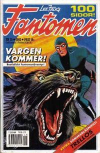Cover Thumbnail for Fantomen (Semic, 1963 series) #15/1992