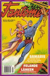 Cover Thumbnail for Fantomen (Semic, 1963 series) #25/1993
