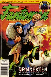 Cover Thumbnail for Fantomen (Semic, 1963 series) #2/1996