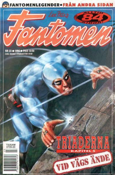 Cover for Fantomen (Semic, 1963 series) #23/1994