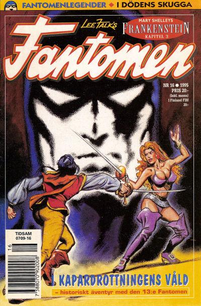 Cover for Fantomen (Semic, 1963 series) #16/1995