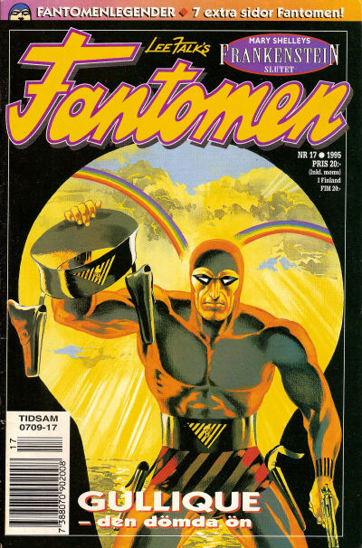 Cover for Fantomen (Semic, 1963 series) #17/1995