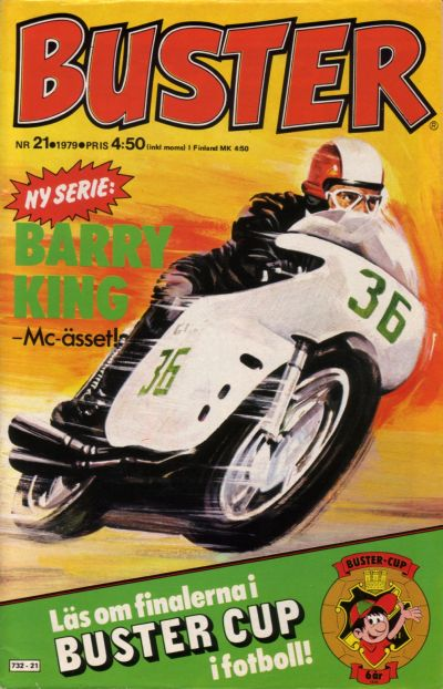 Cover for Buster (Semic, 1970 series) #21/1979