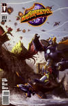 Cover for Monsterpocalypse (Desperado Publishing, 2008 series) #1