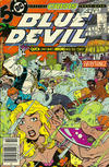 Cover for Blue Devil (DC, 1984 series) #17 [Newsstand]