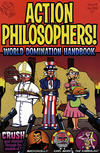 Cover for Action Philosophers (Evil Twin Comics, 2005 series) #1 (4) - World Domination Handbook