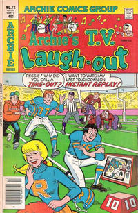 Cover Thumbnail for Archie's TV Laugh-Out (Archie, 1969 series) #72