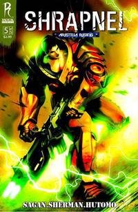 Cover Thumbnail for Shrapnel (Radical Comics, 2009 series) #5 [Cover A]
