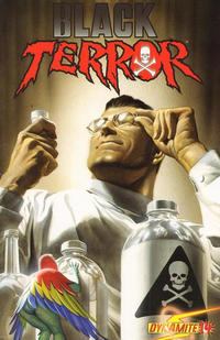 Cover Thumbnail for Black Terror (Dynamite Entertainment, 2008 series) #14 [Cover A - Alex Ross]
