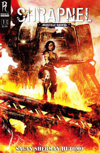 Cover Thumbnail for Shrapnel (Radical Comics, 2009 series) #1 [Cover A]