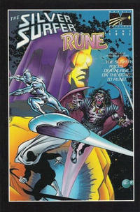 Cover Thumbnail for Rune / Silver Surfer (Malibu, 1995 series) #1 [Squarebound Variant]